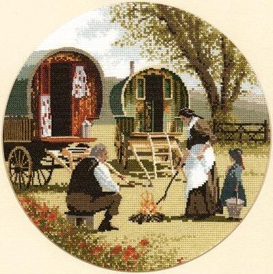 Heritage Crafts HC0341 John Clayton ~ Circles ~ Gypsy Caravans