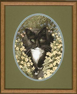 Heritage Crafts HC0346 John Stubbs ~ Cats Collection ~ Black & White Cat