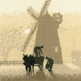Heritage Crafts HC0372 Phil Smith ~ Silhouettes ~ Windmill