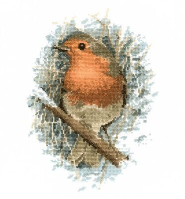 Heritage Crafts HC0401 John Stubbs ~ Wildlife Collection ~ Robin Redbreast