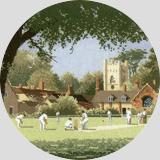 Heritage Crafts HC0442 John Clayton ~ Circles ~ Autumn Sunday Cricket
