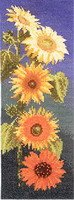 Heritage Crafts HC0472 John Clayton ~ Flower Panels ~ Sunflower