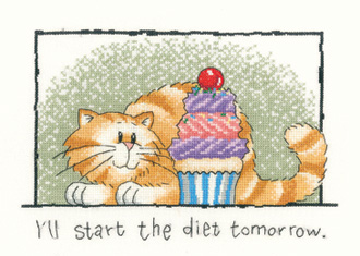 Heritage Crafts HC0611 Peter Underhill ~ Cats Rule ~ Diet Tomorrow