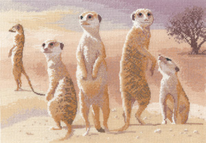 Heritage Crafts HC0639 John Clayton ~ Power & Grace ~ Meerkats