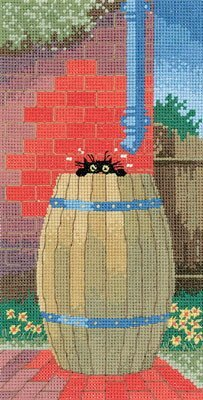 Heritage Crafts HC0660 Toni Goffe ~ Little Black Cat ~ Cooling Off