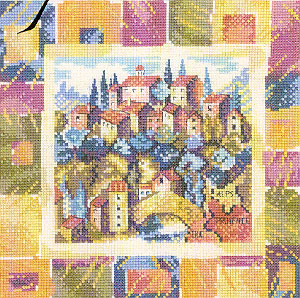 Heritage Crafts HC0756 Carol Thornton ~ Impressions ~ Mountain Village