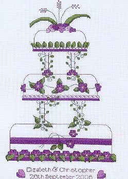Heritage Crafts HC0783 Laila Amsbergs ~ Occasions ~ Wedding Cake