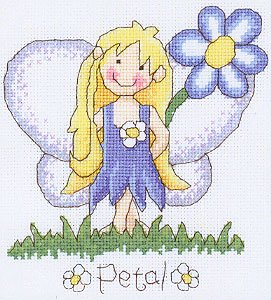 Heritage Crafts HC0793 Laila Amsbergs ~ Garden Fairies ~ Petal