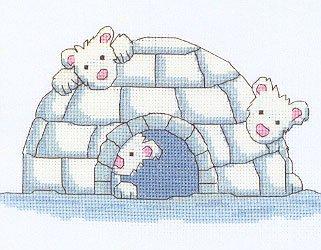 Heritage Crafts HC0796 Laila Amsbergs ~ Cute Creatures ~ Hide & Seek