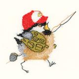 Heritage Crafts HC0838 Valerie Pfeiffer ~ Chickadees ~ Fisherman Chick