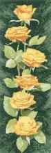 Heritage Crafts HC0891 John Clayton ~ Flower Panels ~ Yellow Roses