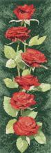Heritage Crafts HC0893 John Clayton ~ Flower Panels ~ Red Roses