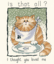 Heritage Crafts HC0895 Peter Underhill ~ Cats Rule ~ Is That All?