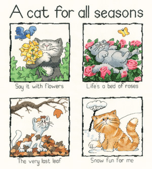 Heritage Crafts HC0910 Peter Underhill ~ Cats Rule ~ A Cat For All Seasons