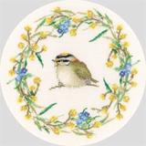 Heritage Crafts HC0924 Valerie Pfeiffer ~ Garlands ~  Spring Garland