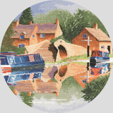 Heritage Crafts HC0947 John Clayton ~ Circles ~ Canal Reflections