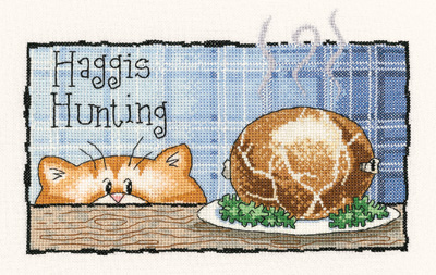 Heritage Crafts HC0952 Peter Underhill ~ Cats Rule ~ Haggis Hunting