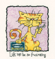 Heritage Crafts HC0953 Peter Underhill ~Tiddles ~ Life Can Be So Frustrating