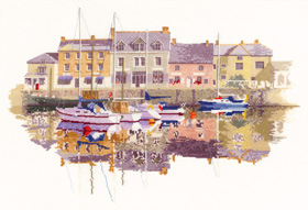 Heritage Crafts HC0961 John Clayton ~ The Collection ~  Harbour Reflections