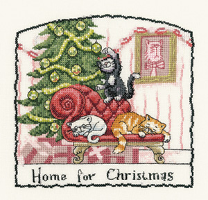 Heritage Crafts HC0962 Peter Underhill ~ Cats Rule ~ Home For Christmas