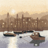 Heritage Crafts HC0973 Phil Smith ~ Silhouettes ~ Harbour Light
