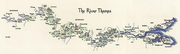 Heritage Crafts HC0981 Susan Ryder ~ Heritage Collection ~ River Thames