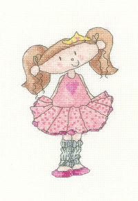Heritage Crafts HC0997 Clare Pulsford ~ Little Stars ~ Ballerina