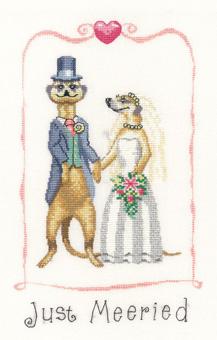 Heritage Crafts HC1025 Peter Underhill ~ Meerkats ~ Just Married