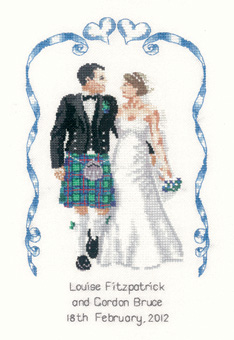 Heritage Crafts HC1030 Peter Underhill Collection ~ Scottish Wedding