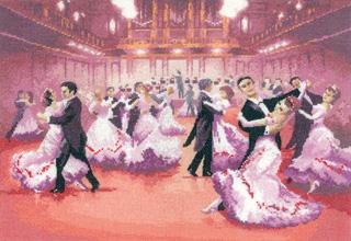 Heritage Crafts HC1036 John Clayton ~ Dancers ~ Grand Ball