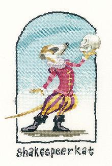 Heritage Crafts HC1039 Peter Underhill ~ Meerkats ~ Shakespeerkat