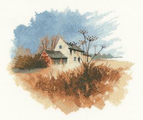 Heritage Crafts HC1060 John Clayton ~ Watercolors ~ Old Farmhouse