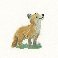Heritage Crafts HC1061 Valerie Pfeiffer ~ Little Friends ~ Fox Cub