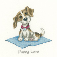 Heritage Crafts HC1078 Peter Underhill ~ It's A Dog's Life ~ Puppy Love