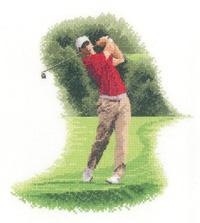 Heritage Crafts HC1118 John Clayton ~ Sporting Scenes ~ Golfer Fairway