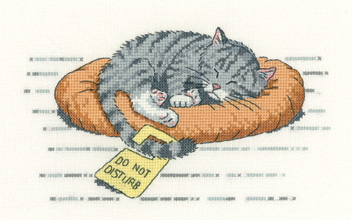 Heritage Crafts HC1134 Peter Underhill ~ Cat's Rule ~ Do Not Disturb