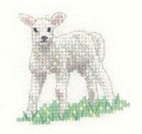 Heritage Crafts  HC1187 Valerie Pfeiffer ~ Little Friends ~ Lamb