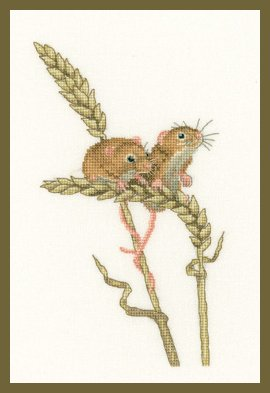 Heritage Crafts HC1264 Peter Underhill ~ Little Darlings ~ Harvest Mice