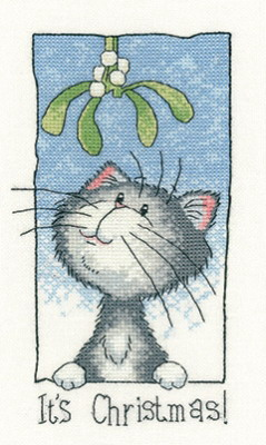 Heritage Crafts HC1286 Peter Underhill ~ Cats Rule  ~ It's Christmas