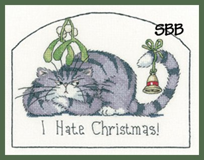 Heritage Crafts  HC1287 Peter Underhill ~ Cats Rule ~ I Hate Christmas