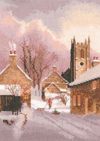 Heritage Crafts HC1305 John Clayton Collection ~ Snowy Village