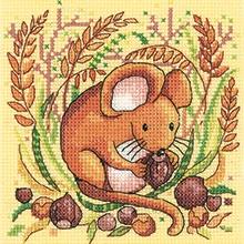 Heritage Crafts HC1332 Karen Carter ~ Woodland ~ Mouse