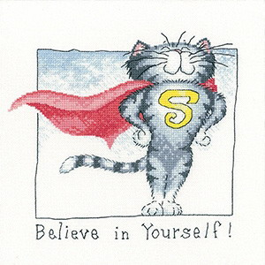 Heritage Crafts HC1359 Peter Underhill ~ Cats Rule  ~ Believe In Yourself