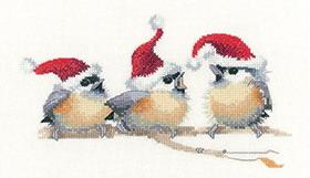 Heritage Crafts HC1372 Valerie Pfeiffer ~ Trois ~ Festive Chicks
