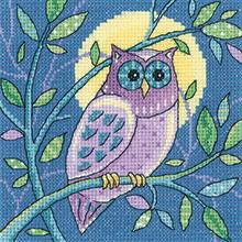 Heritage Crafts HC1380 Karen Carter ~ Woodland ~ Owl