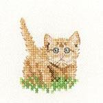 Heritage Crafts HC1406 Little Friends ~ Ginger Kitten