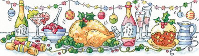 Heritage Crafts HC1424 Karen Carter ~ Christmas Dinner