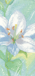 Heritage Crafts Kits HCK1200A Sue Hill ~ Flower ~ Lily C ~ 14 Count Aida