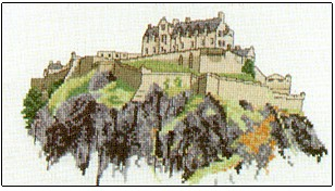 Heritage Crafts Kits HCK0045 Susan Ryder ~ Heritage Collection ~ Edinburgh Castle