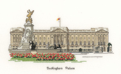 Heritage Crafts Kits HCK0065 Susan Ryder ~ Heritage Collection ~ Buckingham Palace